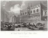 The Grand Canal and Doge's Palace