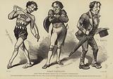 Caricatures of Benjamin Disraeli