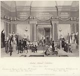 Madame Tussaud's exhibition in the bazaar on Baker Street