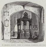 Interior of St Helen's Bishopsgate