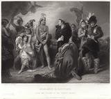 Spaniards and Peruvians