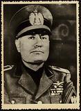 Portrait of Benito Mussolini