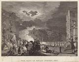 Riot in Broad Street in 1780