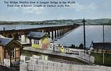 Tay Bridge, Dundee, from South