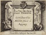 Title page of The Life of the Child Prodigy