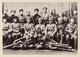 Revolutionary Military Council of the 1st Cavalry Army, command and political staff, Maykop, Russia, Russian Civil War, March 1920