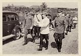 Soviet Deputy Commissar for Defence Semyon Budyonny with the command staff of the Transcaucasian Military district, USSR, 1940