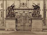 Giants' Gate, Prague Castle, Czechoslovakia, late 1940s