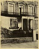 Karl Marx's London home, where he spent the last days of his life