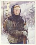 Yuta Bondarovskaya, Soviet Pioneer girl who joined a partisan reconnaissance squad during World War II