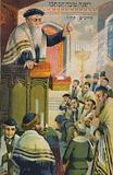 Service in a synagogue