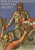 Czechoslovakian - Soviet friendship day, 1951
