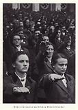 Leaders of the women's section of the Reichsarbeitsdienst (Reich Labour Service), Nuremberg Rally, 1936