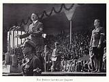 Hitler speaking to the youth of Germany, Nuremberg Rally, 1936
