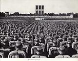 Massed ranks of the SS at the Nuremberg Rally, 1936