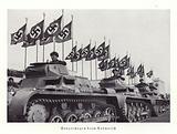 Column of tanks, Nuremberg Rally, 1936