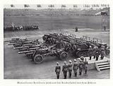 Hitler reviewing motorised artillery, Nuremberg Rally, 1936