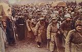 Evacuation of Russian prisoners, World War I, 1914-1915