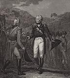 Surrender of General Burgoyne's army at Saratoga, 1777