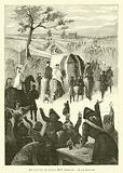 Le convoi de Louis XIV insulte par le peuple