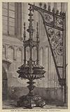 Font in the Protestant Church, Breda, Holland, Sixteenth Century
