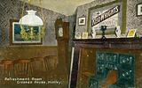 Refreshment Room, Crooked House, Himley