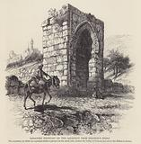 Saracenic Fountain on the aqueduct from Solomon's Pools