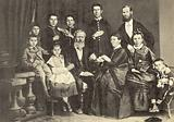 Anton Chekhov and his family, Taganrog, Russia, 1874