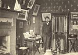 Anton Chekhov in his study in Yalta, Crimea, 1900