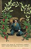 Christmas drunk