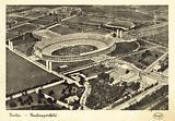Aerial view of the Reichssportfeld, Berlin