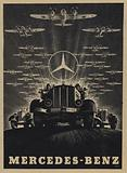 Advertisement for Mercedes-Benz, 1943