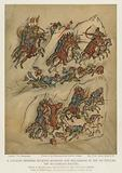A cavalry skirmish between Russians and Bulgarians in the 10th Century