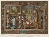 Louis XIV's audience to the papal ambassador Sigismondo Chigi at Fontainebleau, 29 July 1664