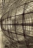 The framework of airship LZ130 under construction