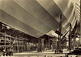 Coating the skin of airship LZ 130