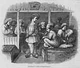 Interior of a Cafe at Constantinople