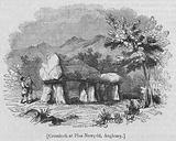 Cromlech at Plas Newydd, Anglesey