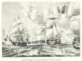 L'amiral Roussin avec son escadre force l'entree du Tage