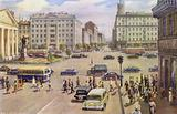 Town square in the Soviet Union