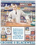 Advertisement for Crosse and Blackwell foods, c1920