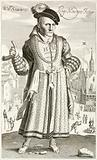 Will Sommers, court jester of King Henry VIII