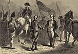 General Lincoln receiving Cornwallis's Sword from General O'Hara