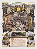 Certificate of appreciation awarded to Mr R Draper, Chairman of the Edwinstowe branch of the National Union of Railwaymen
