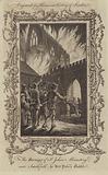 The Burning of St John's Monastery, near Smithfield, by Wat Tyler's Rabble, 1381