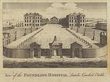 View of the Foundling Hospital, Lamb's Conduit Fields, London