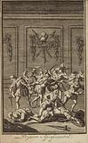 Assassination of Spanish conquistador Francisco Pizarro, Lima, Peru, 1541