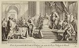 Possession of the County of Toulouse taken in the name of King Philip III of France, 1271