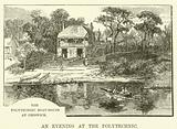 The Polytechnic Boat-House at Chiswick