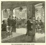 The refreshment and social room